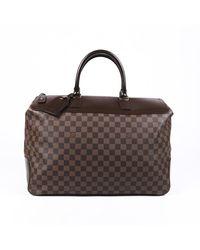 Louis Vuitton Neo Greenwich Damier Ebene Luggage - Brown