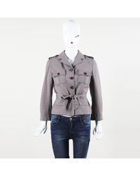 Céline - Wool Mohair Jacket - Lyst