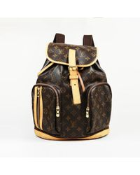 """Louis Vuitton - """"sac A Dos Bosphore"""" Monogram Coated Canvas Backpack - Lyst"""