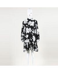 701bad7d Ganni - Floral Print Silk