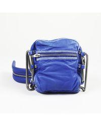 "Alexander Wang - Mini ""brenda"" Leather Suede Crossbody Bag - Lyst"