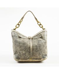 "Jérôme Dreyfuss - Brown Distressed Lambskin ""small Tanguy Hobo"" Bag - Lyst"