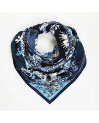 "Hermès - Cashmere Silk ""kachinas"" Shawl - Lyst"