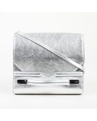 J. Mendel - Mirror Grain Leather Crossbody Bag - Lyst