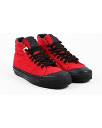 Vans - Unisex Nwt Red Canvas   Suede