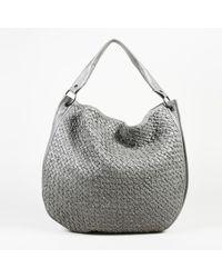 Bottega Veneta - Intrecciato Leather Bag - Lyst