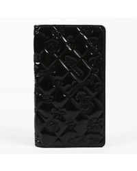 "Chanel - Quilted Patent Leather ""lucky Charms"" Wallet - Lyst"