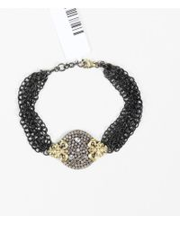 Armenta - Old World Mn/yg Chain Bracelet - Lyst