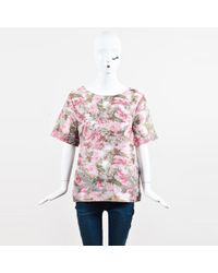 Sale Best Prices Matthew Williamson Woman Lace-up Pompom-trimmed Guipure Lace Top Off-white Size 10 Matthew Williamson Visit New Online New Cheap Online crrYJ5B6