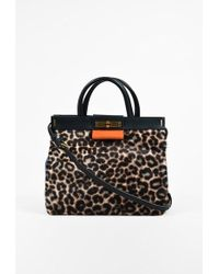 "Marc By Marc Jacobs | Multi Leopard Calf Hair & Leather ""madame Hilli"" Bag 