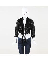 Sachin & Babi - For Ankasa Sequin Silk Jacket - Lyst