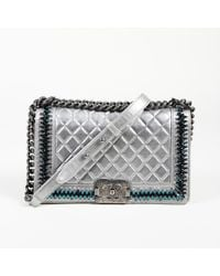c9faadc3fed1 Chanel - 2014-2015 Iridescent Calfskin Quilted Leather Medium