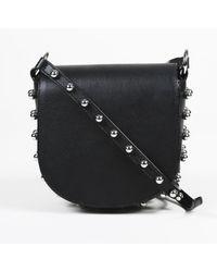 """Alexander Wang - Studded Leather """"lia"""" Shoulder Bag - Lyst"""
