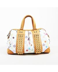 "Louis Vuitton - Monogram Multicolore Canvas ""courtney Mm"" Bag - Lyst"