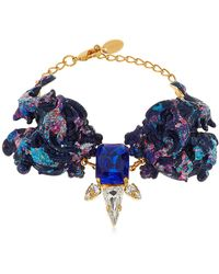 Halo | Colored Bracelet With Swarovski Crystals | Lyst