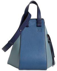 Loewe - Medium Hammock Leather Bag - Lyst