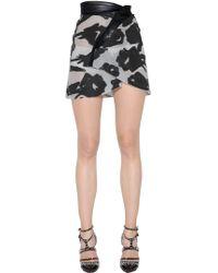 Blumarine | Asymmetrical Fil Coupe Skirt | Lyst