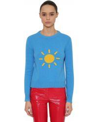 Alberta Ferretti - Sunny Wool & Cashmere Knit Sweater - Lyst