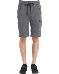 Nike - Air Jordan Cotton Blend Sweat Shorts - Lyst