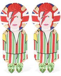 Bijoux De Famille David Bowie Clip-on Earrings