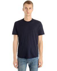 James Perse - Lightweight Cotton Jersey T-shirt - Lyst