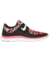 Nike | Free Sock Fly Techno Jacquard Sneakers | Lyst