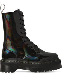 Dr. Martens - 40mm Jadon High Patent Leather Boots - Lyst