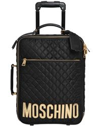 Moschino - Medium Quilted Nylon Trolley - Lyst