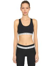 Ermanno Scervino - Brassiere Sports In Lycra - Lyst