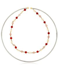 Uribe - Ettore Beaded Choker Necklace - Lyst