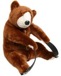 Dolce & Gabbana - Plush Bear Shaped Backpack - Lyst