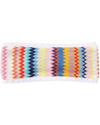 Missoni - Lace Knit Headband - Lyst
