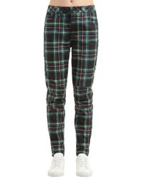 G-Star RAW - Elwood Royal Tartan Print Denim Jeans - Lyst
