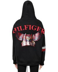 Tommy Hilfiger - Owls Hooded Cotton Sweatshirt - Lyst