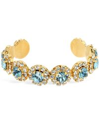Shourouk - Opera Aquamarine Bracelet - Lyst