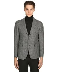 Tagliatore - Wool Prince Of Wales Jacket - Lyst
