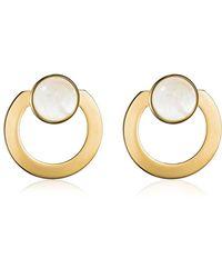 Vita Fede - Moneta Open Mother Of Pearl Earrings - Lyst