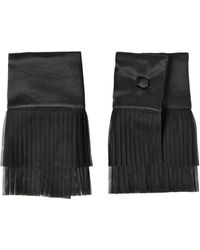 DSquared² - Plisse Tulle & Satin Cuffs - Lyst