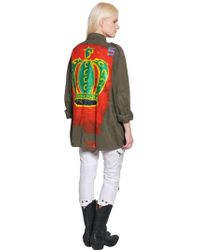 Faith Connexion - Hand Painted Cotton Field Jacket - Lyst