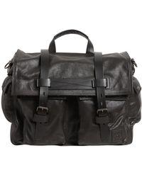 Belstaff - Colonial Leather Messenger Bag - Lyst