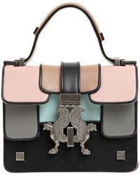 Giancarlo Petriglia - Mini P-bag Multicolor Leather Bag - Lyst