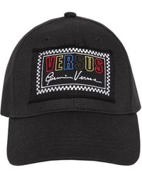 Versus - Cotton Baseball Hat W/ Logo Patch - Lyst