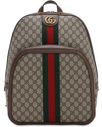 a987273a7 Mochila GG Supreme con Tira Gucci de hombre de color Neutro - Lyst