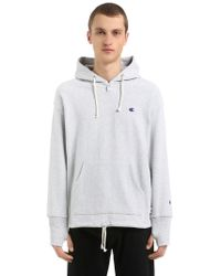 Champion - Beams Hooded Sweatshirt - Lyst