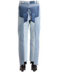 Vetements Jeans In Denim Reworked