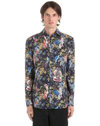 Etro - Camicia In Lino - Lyst