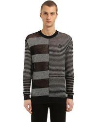 McQ - Swallow Detail Wool & Linen Sweater - Lyst