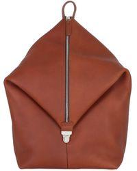 Bonastre - Mono Strap Leather Backpack - Lyst