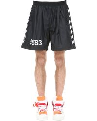 """Hummel - Shorts """"willy Chavarria"""" Con Bandas Laterales - Lyst"""