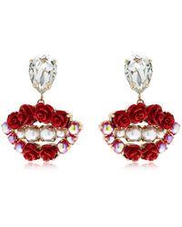 Bijoux De Famille - Lips Blossom Earrings - Lyst